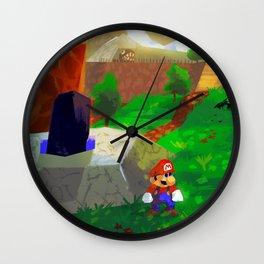 Childhood favorite - Super Mario 64 Wall Clock
