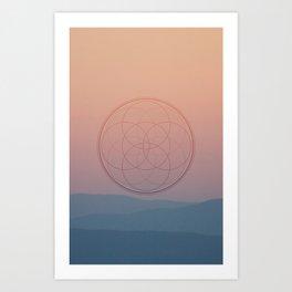 Horizon Series (2 of 3) Art Print