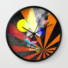 Gone Away Wall Clock
