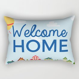 Welcome Home 750 Rectangular Pillow