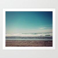 west coast Art Prints featuring West Coast II by Hannah Kemp