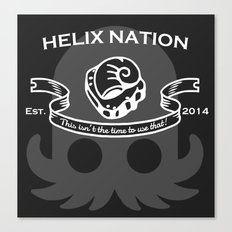 Helix Fossil Nation Canvas Print