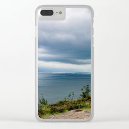 Stormy day Clear iPhone Case