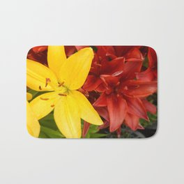 """A Gathering of Lilies"" - 3 [D4468~49] Bath Mat"