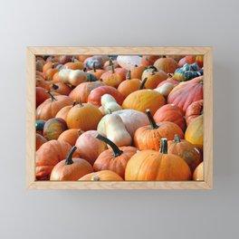 Autumn Flavour Pumpkin Framed Mini Art Print