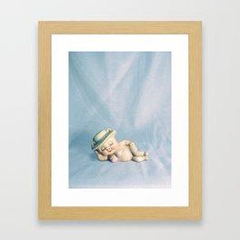 Lipstick on a Pig Framed Art Print