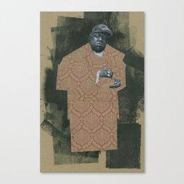 BIG POPPA Canvas Print