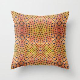Rainbow Leopard Throw Pillow