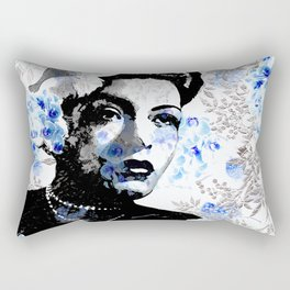 LADY AND ORCHIDS Rectangular Pillow