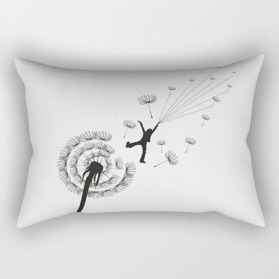 Free Dandelion Rectangular Pillow