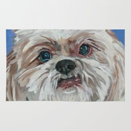 Ruby the Shih Tzu Dog Portrait Rug