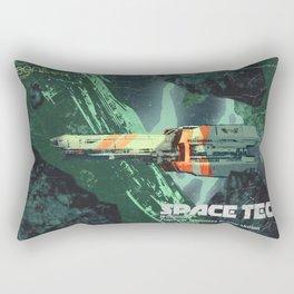 space Tech Bi-Monthley Rectangular Pillow