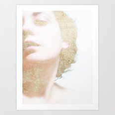 Self Portrait in Gold Art Print