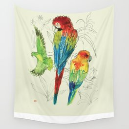Parrot & Co Wall Tapestry