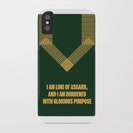 Loki Avenger iPhone Case
