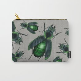 Malachite Beetle Carry-All Pouch