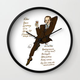 Frasier Crane Pin-up Wall Clock