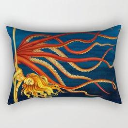 Pole Creatures - Mermaid Rectangular Pillow