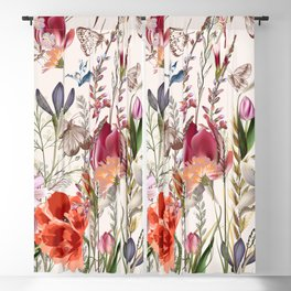 Bright spring field. Romantic pattern Blackout Curtain