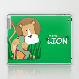L is for Lion.. Laptop & iPad Skin