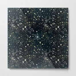 Starry Night Sky Metal Print