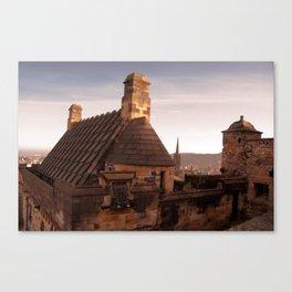 Castle Rooftop Canvas Print