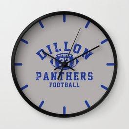 dillon panthers football #33 Wall Clock