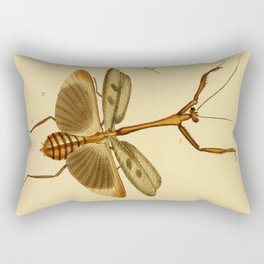 Naturalist Stick Bugs Rectangular Pillow
