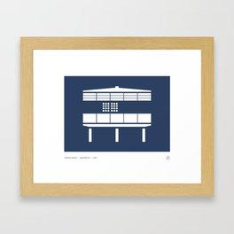 Tropical House Framed Art Print