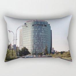 Roumania, Plaza Charles de Gaulle, Bucarest Rectangular Pillow