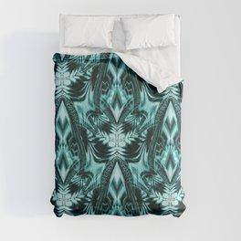 Le Fleurs en Turquoise Comforters