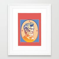 lincoln Framed Art Prints featuring Lincoln by David Chestnutt
