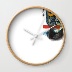 Geometry Face Wall Clock