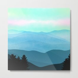 The Great Smoky Mountains Metal Print