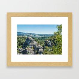 Hrubá Skála- Czech Republic Framed Art Print