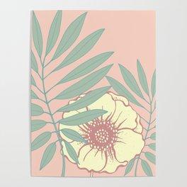Floral# Poster