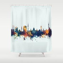 Hannover Germany Skyline Shower Curtain