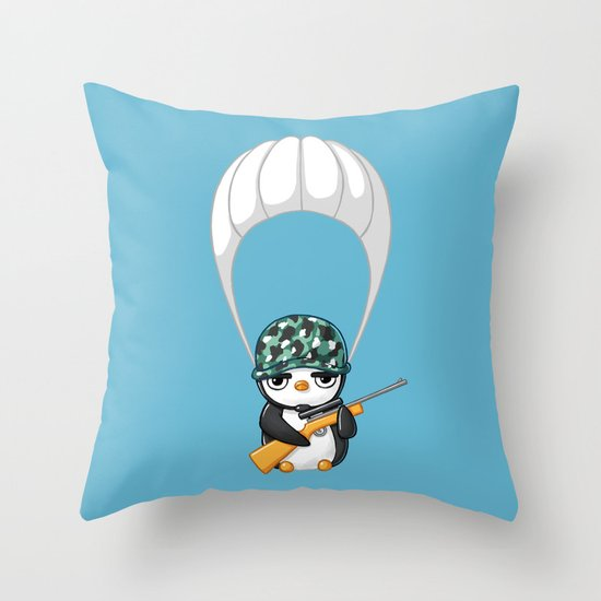 Commando Throw Pillow