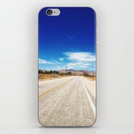 Long Desert Road iPhone Skin