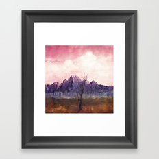 Over The Mountains II Framed Art Print