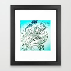 Jimmy Eat Shit Framed Art Print