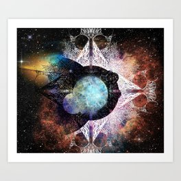 It's Complicated V. 3: In Space Art Print