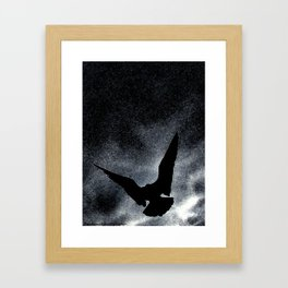 Dark Skies Framed Art Print