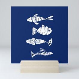 Sea fishes Mini Art Print
