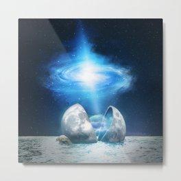 The Universe birth Metal Print
