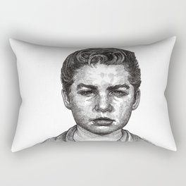 Little Jimmy Finkle Leader of the Gumball Gang Rectangular Pillow
