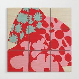 Fashion Mix Colors Wood Wall Art