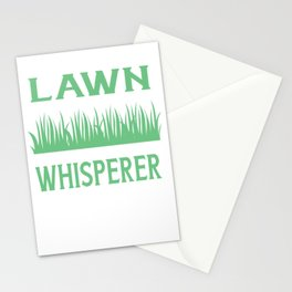 Lawn Mower - Lawn Whisperer Stationery Cards