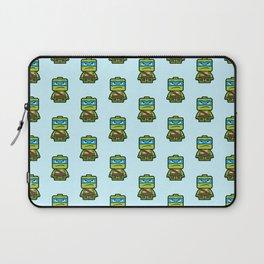 Chibi Leonardo Ninja Turtle Laptop Sleeve