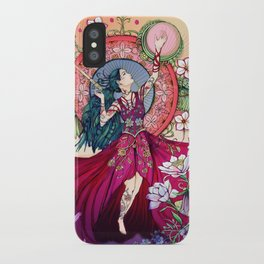 Goddess of the Equinox iPhone Case